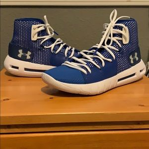 "Under Armor Hovr Havoc ""Team Blue"" size 9.5"